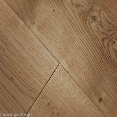 Engineered Oak Flooring Wide Boards15(3)mm x 189mm Lacquered Wood Veneered 3 Ply