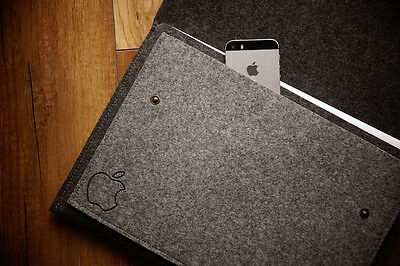 "New Apple MacBook 12"" Retina Sleeve Case - WITH BUTTONS"