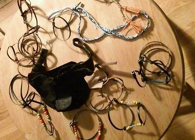Breyer custom ten peice tack lot saddles bridles, halters more,,,,,,