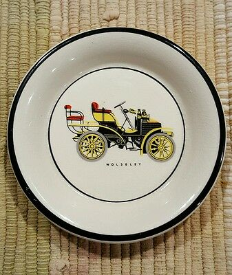 Carlton Ware Wolseley Antique Car Design Pin Dish Made in England