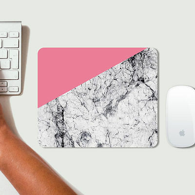 New Pink Marble Pattern Mouse Pad Mats Mousepad Hot Gift