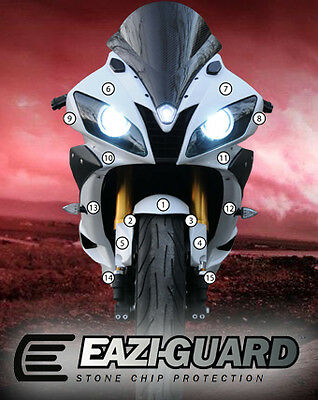 Eazi-Guard Stone Chip Paint Protection Film for Yamaha YZF-R6