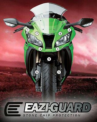 Eazi-Guard Stone Chip Paint Protection Film for Kawasaki ZX-10R 2011 - 2015