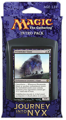 Pantheon's Power Intro Pack 60-Card Deck Journey into Nyx MTG | inc. 2 boosters!
