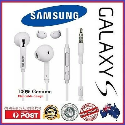 Genuine Original Samsung Galaxy S6 S7 Earphones for All Android devices Black