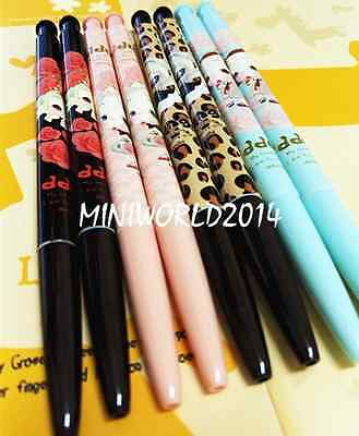 M&G Stationery 8PCS Cartoon Retractable Ball Point Pens-0.5mm,Blue Ink Free Ship
