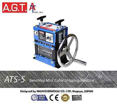 ATS-5 Mini Scrap Cable Wire Stripper/Stripping Machine, Copper Recycling