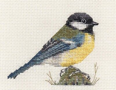 COAL TIT~ Garden Bird ~ Full counted cross stitch kit with all materials