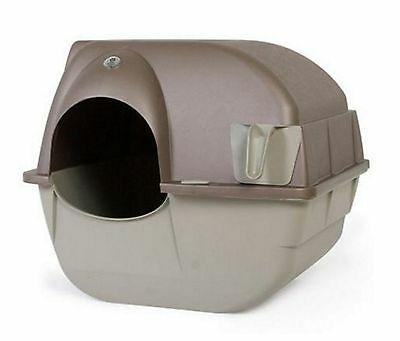 Cat Litter Box Pet Pan Self Cleaning Large Hooded Automatic Fresh Pan Easy Clean