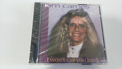 Kim Carnes I Won´t Call You Back Cd Nuevo Y Precintado New And Sealed