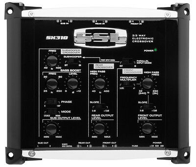 Sound Storm SX310 AUDIO ELECTRONIC CROSSOVER 3-WAY w/ REMOTE