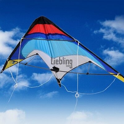 Large Dual Line Control Flying Delta Sport Stunt kite Outdoor Activiy  LEBB