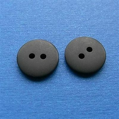 200 Wholesale Lot  Pant Craft Clothing Sewing Buttons 16.5mm Dull Black  M216