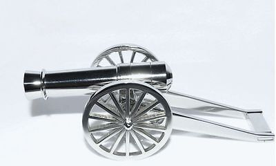 NEW Powder Signal Cannon 304 Stainless Steel Desk Cannon Model