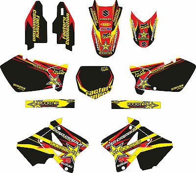 MX Dekor Factory Suzuki RM 125/250 ab 2003 Full Kit