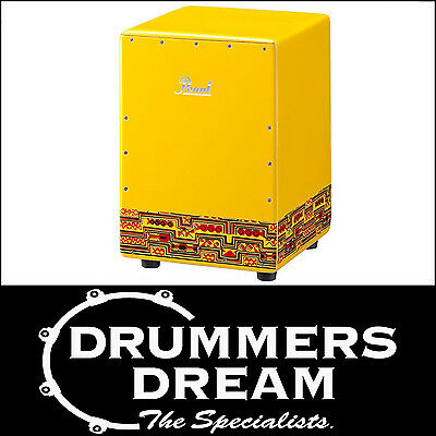 Pearl Kids Fun Box Cajon Drum Yellow Percussion Rhythm Box PFB-300 BRAND NEW