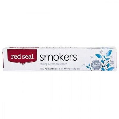 Red Seal Smokers Toothpaste 100g 100g