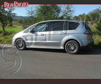 Ford S-Max 2006-2011 Side Bars Kit / Stainless Steel