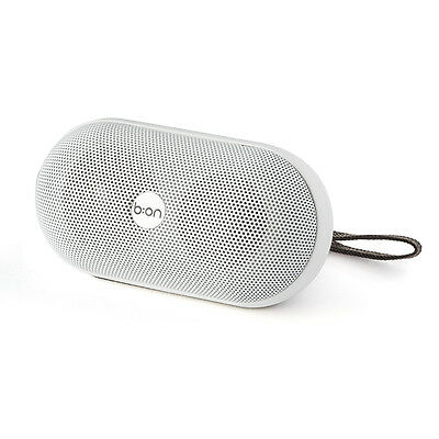 Balvi - Altavoz Bluetooth Ellipse blanco