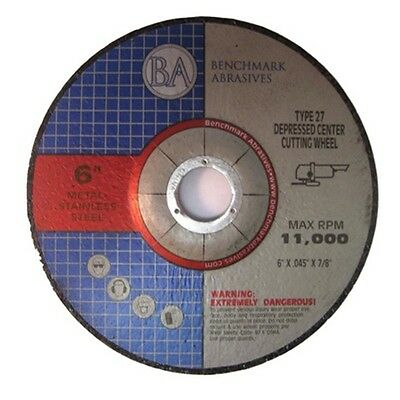 "6""x.045""x7/8"" Depressed Center Thin Cut Off Wheel 25"
