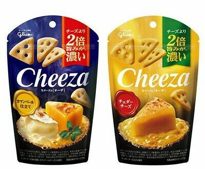 "Glico ""Cheeza""Cheddar, Camembert, Japan, Snack, Candy"