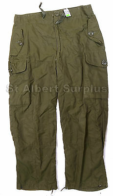 Canadian Army Combat Pants - 7036 - Wind Pants / Cold Weather - 576Xq