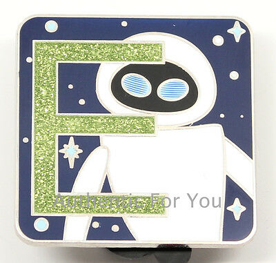 NEW Disney Pin Pixar Alphabet Letter E Eve from WALL-E Mystery Set CHASER LE 400