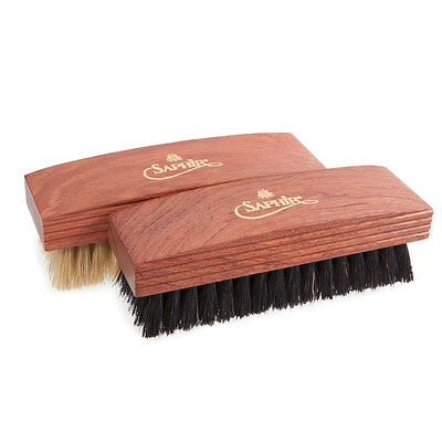 Saphir Medallie D'Or Dark Stained Buffing Brushes