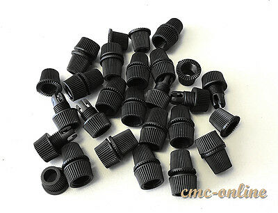 Pendant Strain Relief Plastic Cord Grips Retro Cable Clamp Lock 033 Black