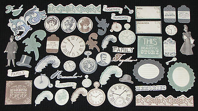 Kaisercraft 'BETSY'S COUTURE' Collectables Die Cut Shapes KAISER *Deleted*