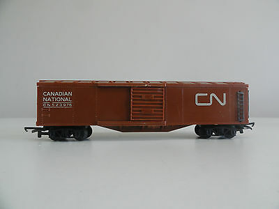 triang R136CN canadian national brown long box car transcontinental