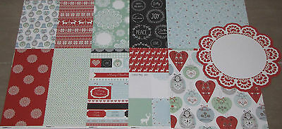 "Kaisercraft 'NORTH POLE' 12x12"" Paper Christmas (You Choose) KAISER *DELETED*"