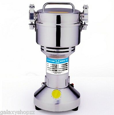 800g Grains Seasoning Feed Ores Salt & Pepper Grinder High-Speed Universal Mills