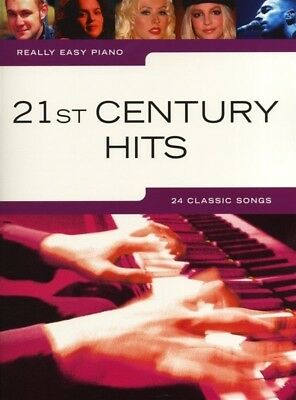 Really Easy - 21st Century Hits Piano Book *NEW* Sheet Music, 24 Classic Songs