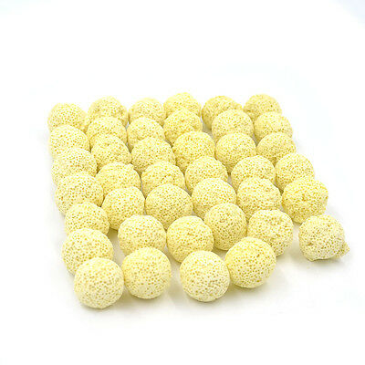 40pcs Fish Tank Aquarium Porous Ceramic Filter Biological Ball Free Shipping