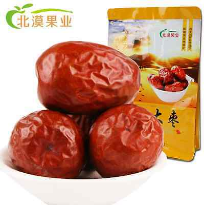 100% NATURAL 500g JUJUBE CHINESE RED DATES  SUN DRIED - FREE IN POSTAGE
