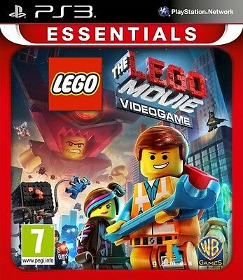 New LEGO Movie The Videogame Essentials (PS3, Playstation 3)