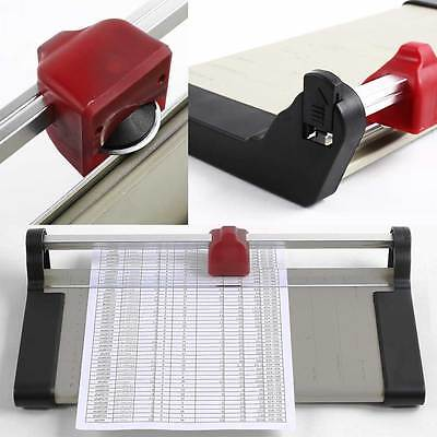 A4 Guillotine Precision Photo Rotary Paper Cutter Trimmer Arts Crafts Home Card