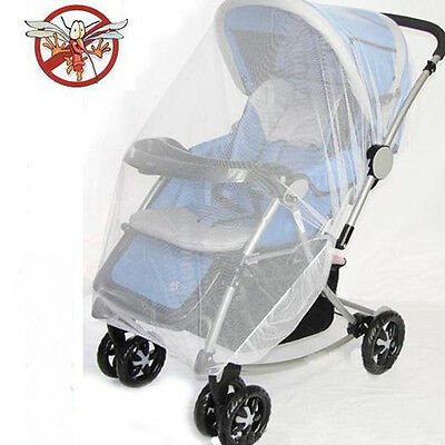 Beautiful Infants Babies Stroller Pushchair Mosquito Insect Net Safe Mesh Cover