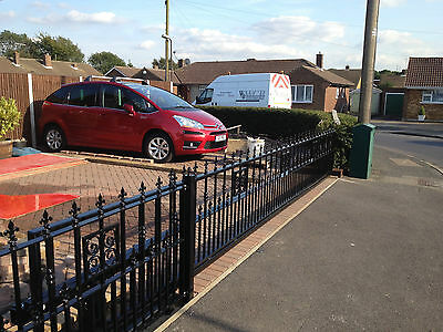 Fencing Gates Railings Steel Wrought Iron Glass By English Crafstmen