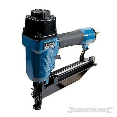 Silverline Air Finishing Nailer 64mm 16 Gauge Joinery 955431