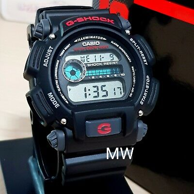 Casio DW-9052-1V G-Shock Classic Alarm Chrono Digital Sports Men's Watch DW9052