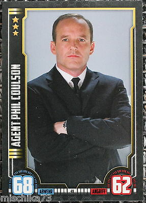 Topps Hero Attax Marvel Cinematic Universe Karte Nr.49 Agent Phil Coulson