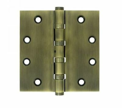 "Door Hinges Square Corner  4-1/2"" x 4-1/2"", NRP, 4-BB in 9 Finishes By FPL"