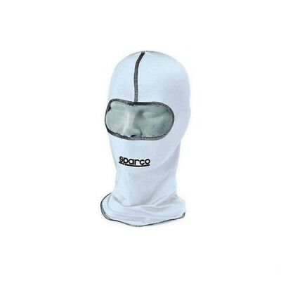 Sparco Basic BALACLAVA OPEN FACE ADULT ONE SIZE basic WHITE  karting kart racing