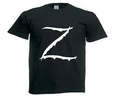 T-SHIRT coupe droite Z comme Zorro S a XXL homme neuf