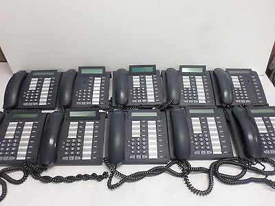 Lot of (10) Siemens optiPoint 500 Basic Phones with Handsets 69903