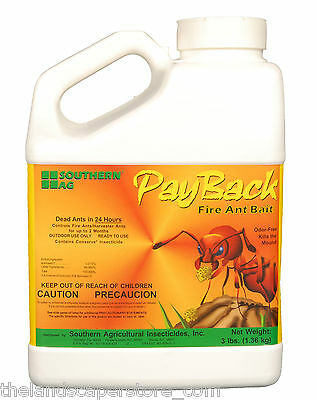 PayBack Fire Ant Bait 3 lbs. Spinosad .015% Pay Back Southern Ag