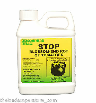 STOP Blossom End Rot of Tomatoes 16oz Pint Calcium Southern Ag