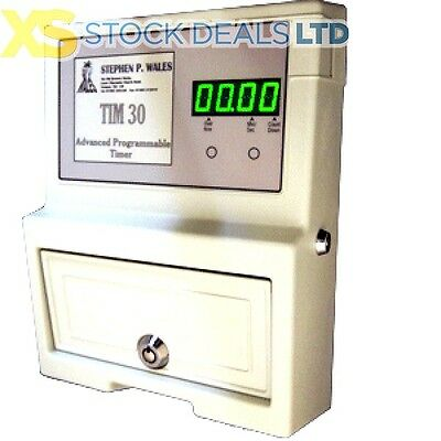 TIM30 Coin Operated Timer Programmable Electric Digital Meter For Sunbed Snooker